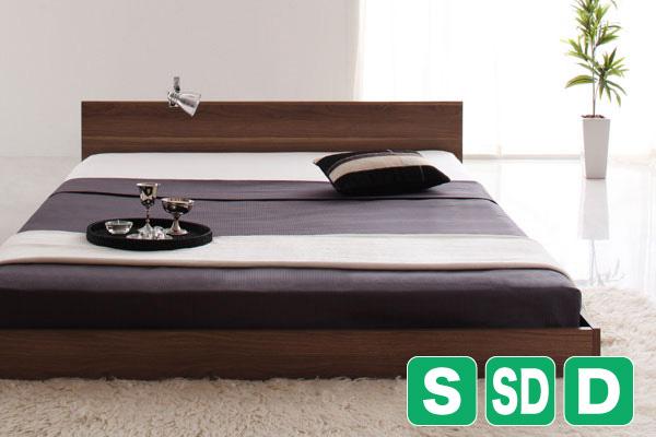 シンプルでスタイリッシュなデザインベッド【llano】ジャーノ