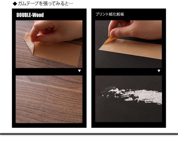 棚・コンセント付きバイカラーデザインフロアベッド DOUBLE-Wood ダブルウッド:商品説明12