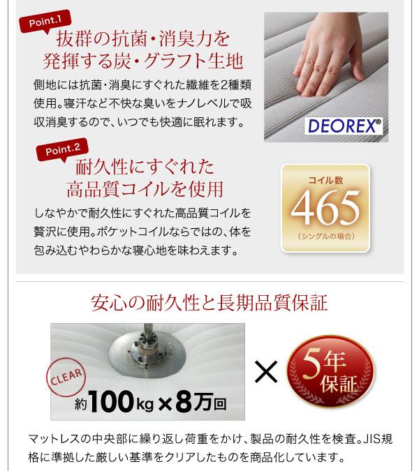 フロアローベッド【Makati】マカティ:商品説明30
