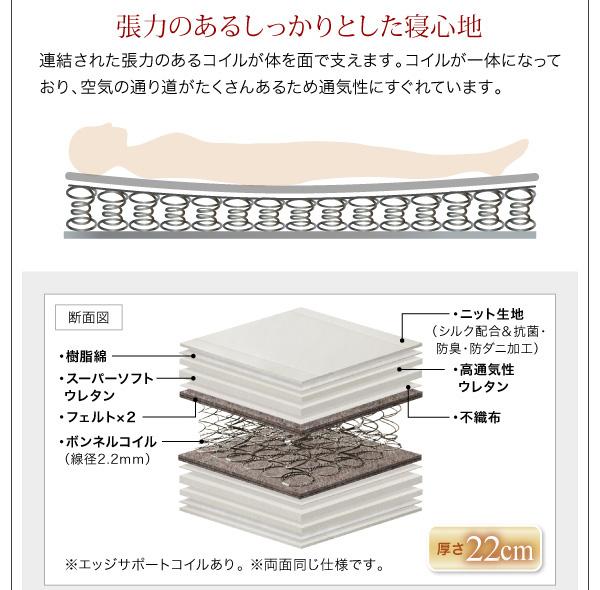 シンプルモダンデザインフロアローステージベッド Renita レニータ:商品説明23