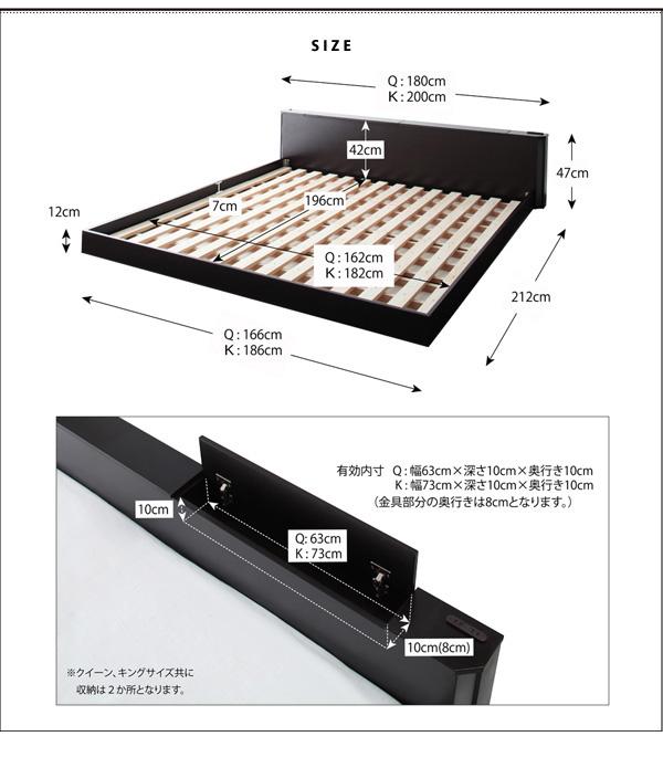 大型フロアローベッド【Senfill】センフィル:商品説明15