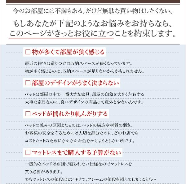 国産収納ベッド【Rhino】ライノ:商品説明3