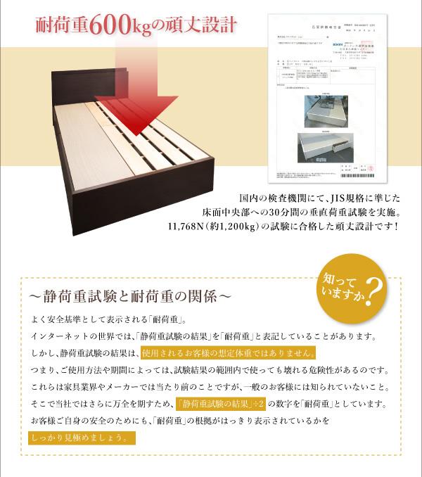 国産収納ベッド【Rhino】ライノ:商品説明6