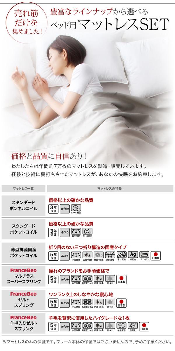 国産収納ベッド【Rhino】ライノ:商品説明20