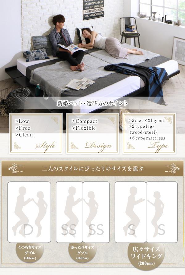 デザインボードベッド【Bibury】ビブリー:商品説明2