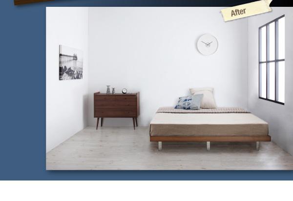 デザインボードベッド【Bona】ボーナ:商品説明4