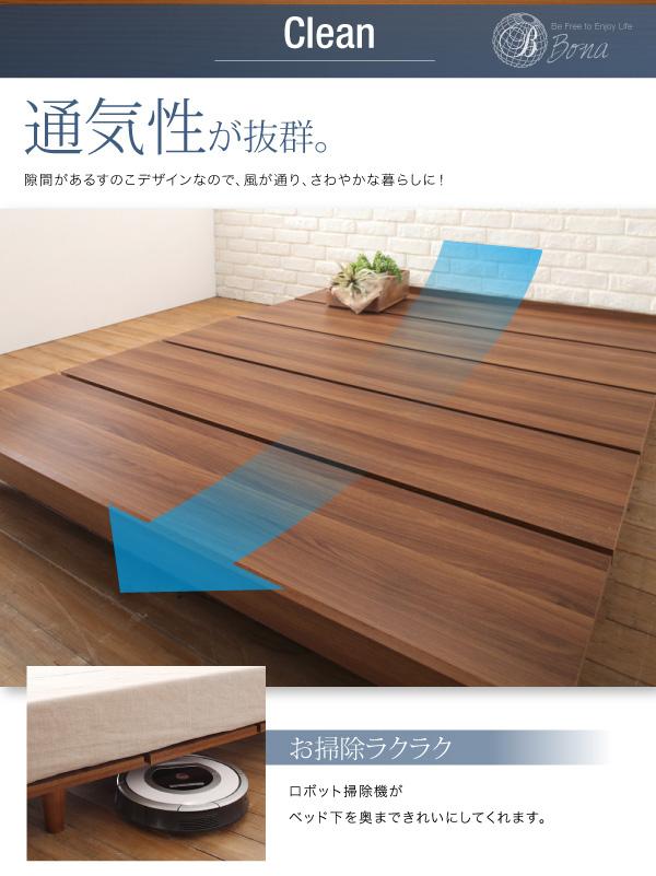 デザインボードベッド【Bona】ボーナ:商品説明10