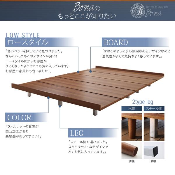 デザインボードベッド【Bona】ボーナ:商品説明27