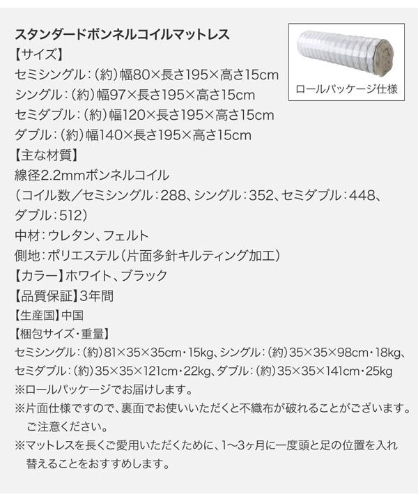 デザインボードベッド【Bona】ボーナ:商品説明31