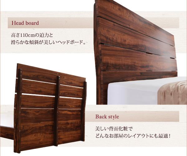 ハイヘッドデザインすのこベッド【Brat】ブラート:商品説明4