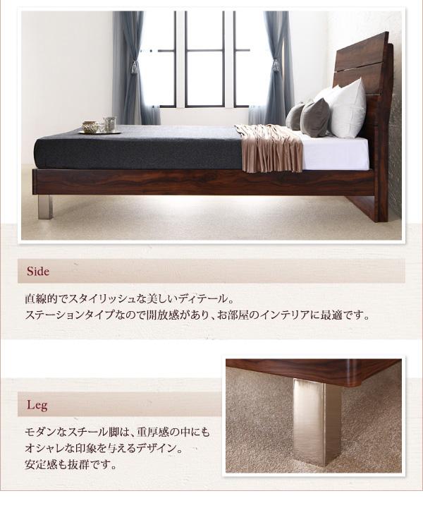 ハイヘッドデザインすのこベッド【Brat】ブラート:商品説明5
