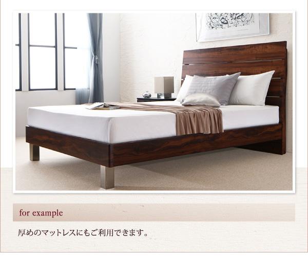 ハイヘッドデザインすのこベッド【Brat】ブラート:商品説明7