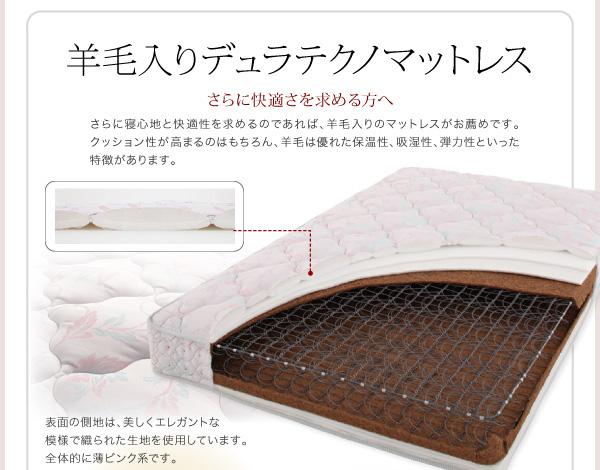 ハイヘッドデザインすのこベッド【Brat】ブラート:商品説明32