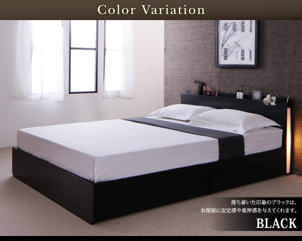 シンプルモダンデザイン・収納ベッド【Cozy Moon】コージームーン 商品説明画像:12