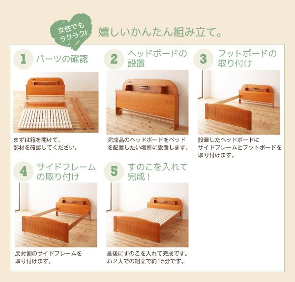 天然木すのこベッド【Days.】デイズ:商品説明12