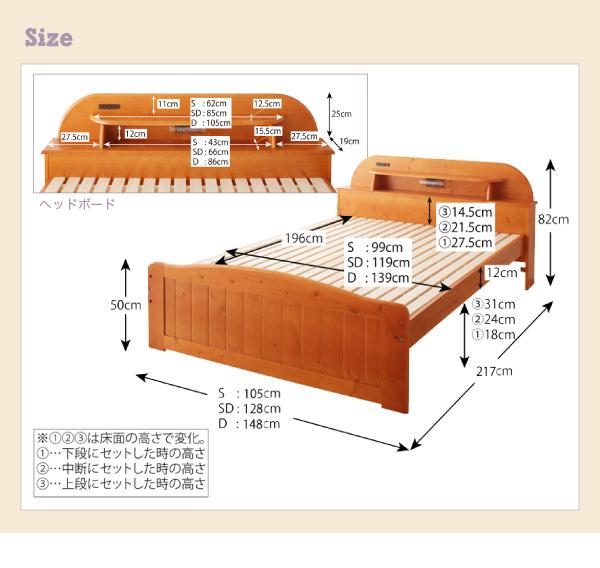 天然木すのこベッド【Days.】デイズ:商品説明15
