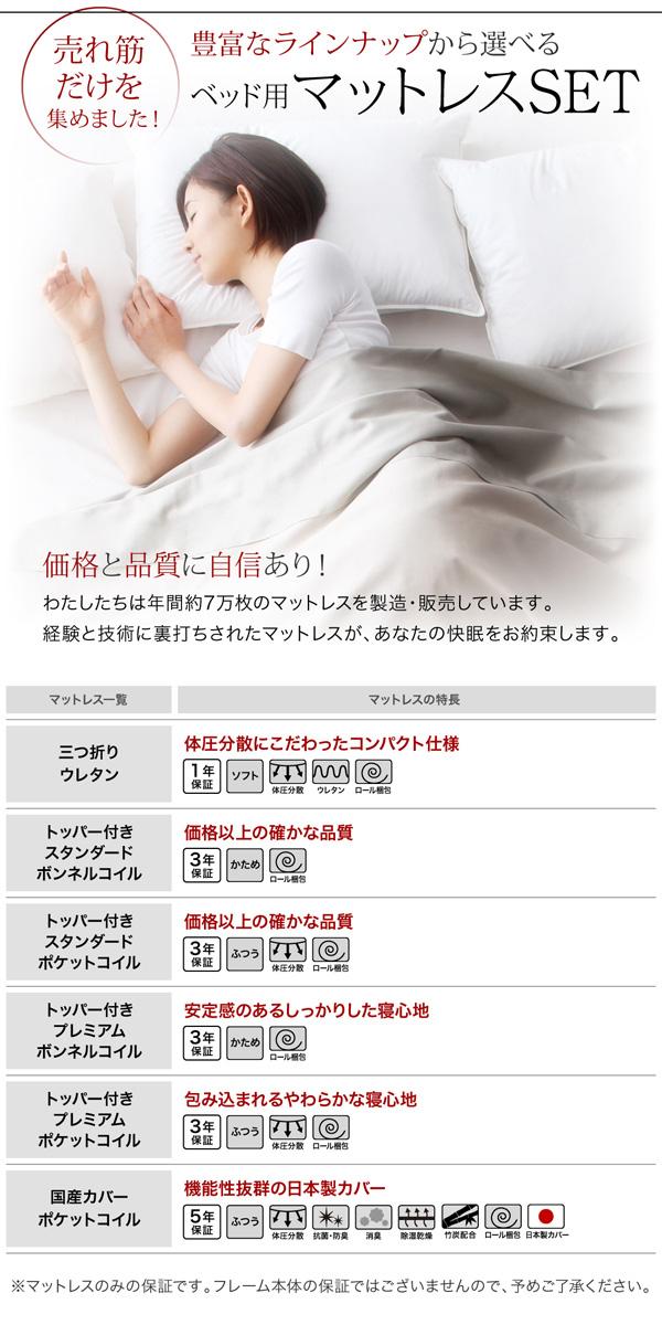 収納ベッド【Equinox】イクイノックス:商品説明13