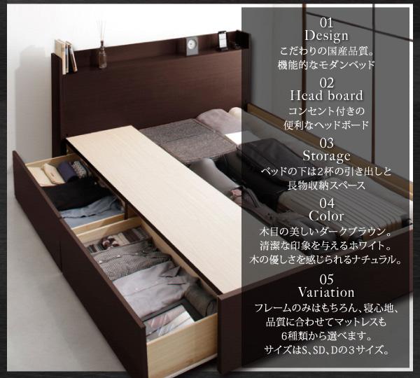 収納ベッド【Fleder】フレーダー:商品説明2
