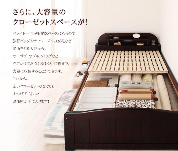 天然木すのこベッド【freel】フリール:商品説明5