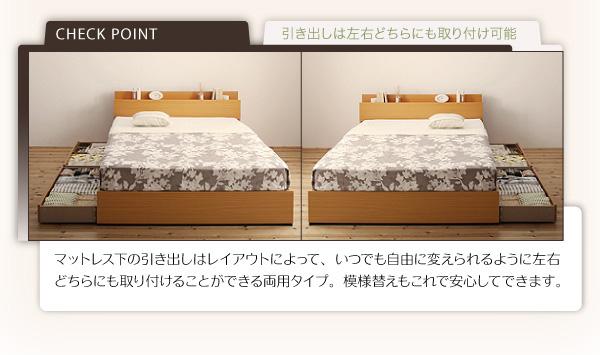 収納ベッド【Kercus】ケークス:商品説明7