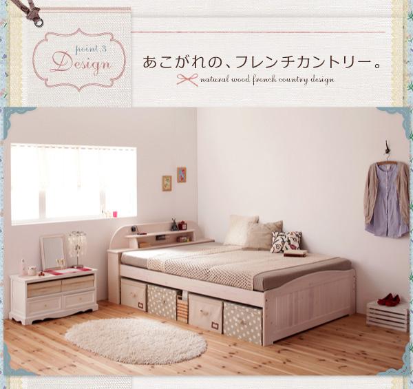 天然木すのこベッド【Loretta】ロレッタ:商品説明8