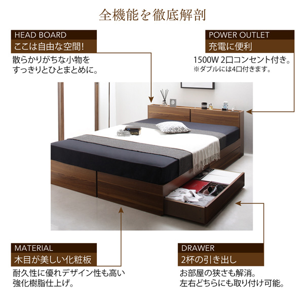 収納ベッド【seelen】ジーレン:商品説明24