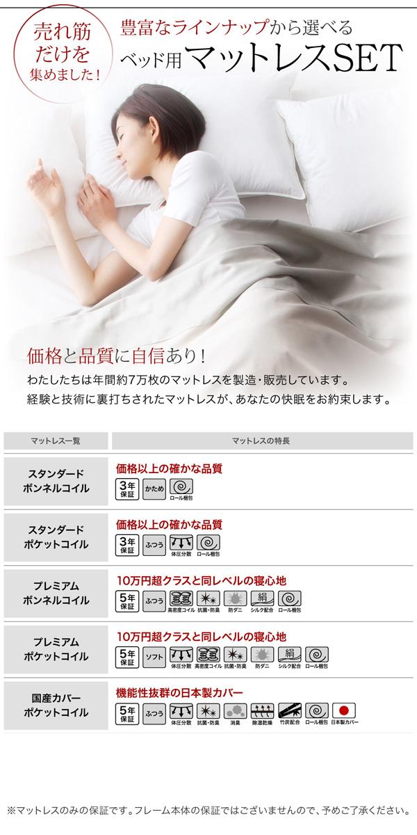 シンプルモダンデザイン・収納ベッド【ZWART】ゼワート 商品説明画像:10