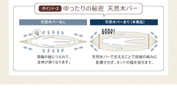 ハンモック付ロフトベッド【Hammox】ハンモックス:商品説明9