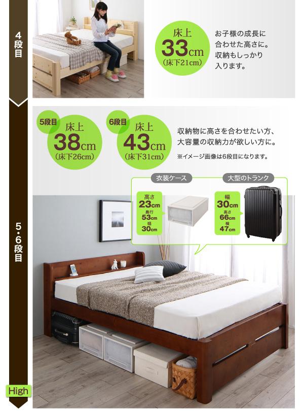 頑丈天然木すのこベッド【ishuruto】イシュルト:商品説明5