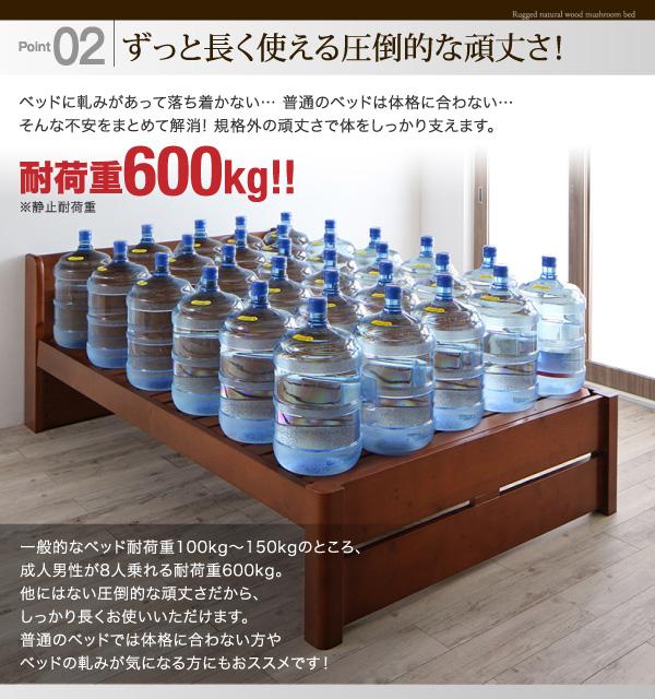 頑丈天然木すのこベッド【ishuruto】イシュルト:商品説明8