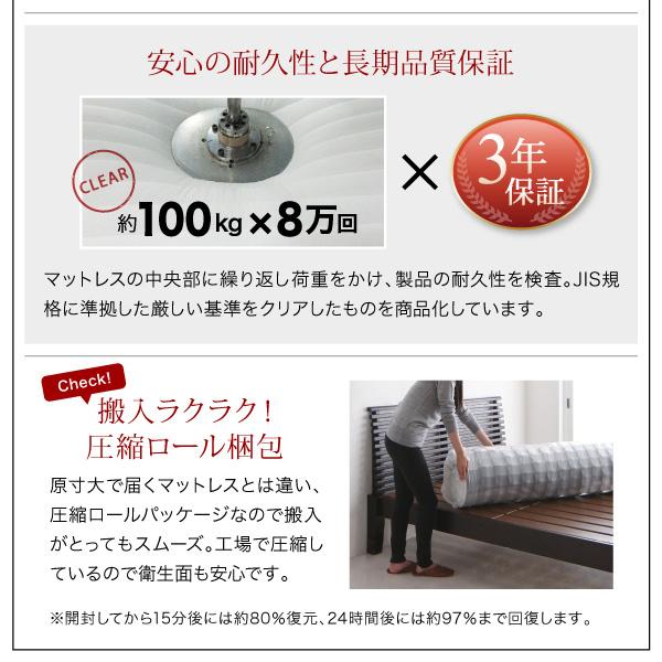 頑丈天然木すのこベッド【ishuruto】イシュルト:商品説明30