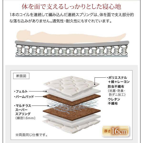 頑丈天然木すのこベッド【ishuruto】イシュルト:商品説明36
