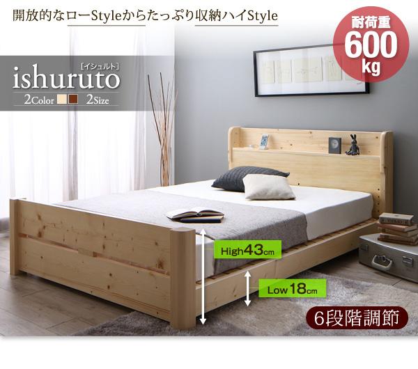 頑丈天然木すのこベッド【ishuruto】イシュルト:商品説明40