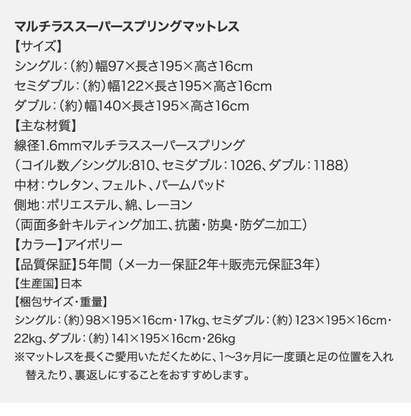 頑丈天然木すのこベッド【ishuruto】イシュルト:商品説明47