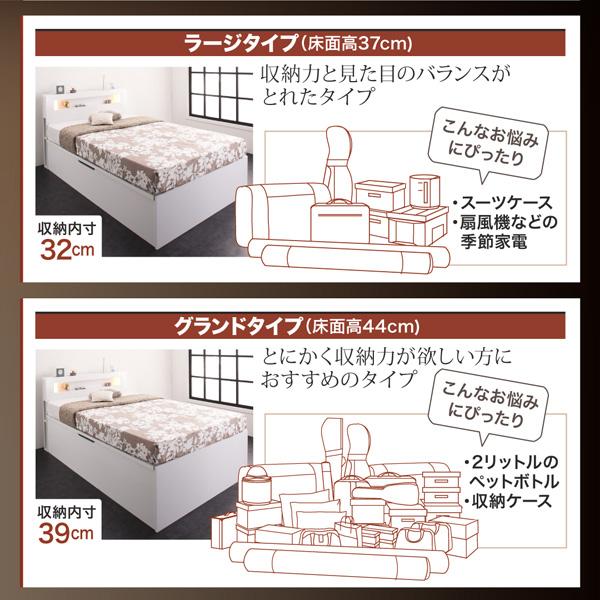 ガス圧式跳ね上げ収納ベッド【Lunalight】ルナライト:商品説明7