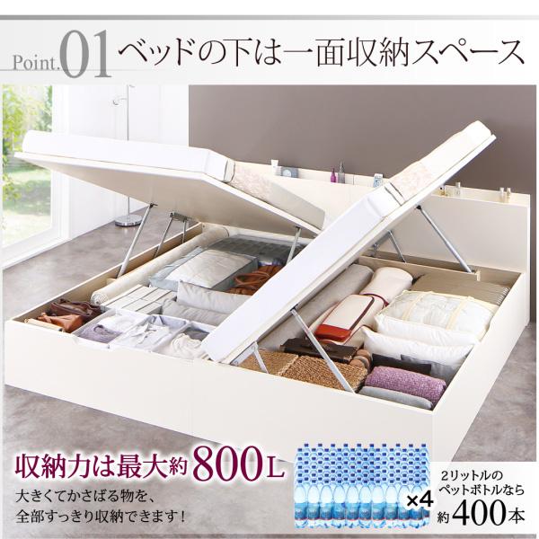 国産跳ね上げ収納ベッド【Renati】レナーチ:商品説明3