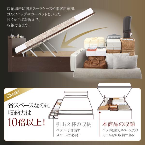 国産跳ね上げ収納ベッド【Renati】レナーチ:商品説明4