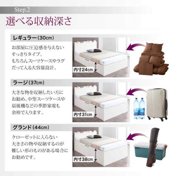 国産跳ね上げ収納ベッド【Renati】レナーチ:商品説明0
