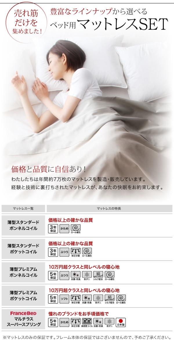 特大収納跳ね上げベッド【T-space】ティースペース:商品説明15