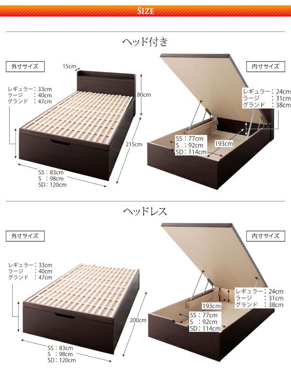 ガス圧式跳ね上げ収納ベッド【Begleiter】ベグレイター:商品説明22