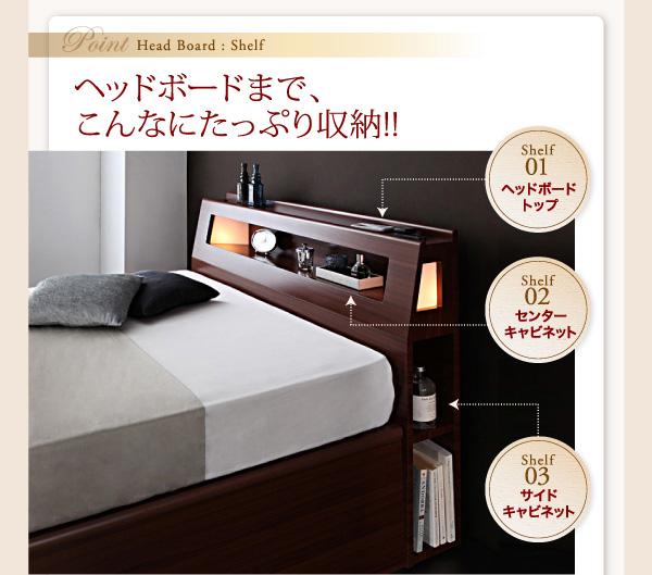 ガス圧式跳ね上げ収納ベッド【Cyrus】サイロス:商品説明8