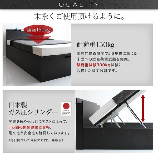 跳ね上げ式ベッド【Fermer】フェルマー:商品説明12