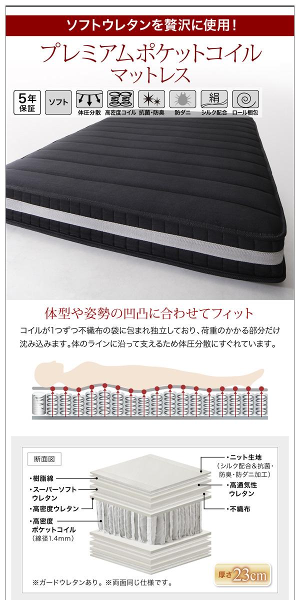ガス圧式跳ね上げ収納ベッド【Kezia】ケザイア:商品説明25