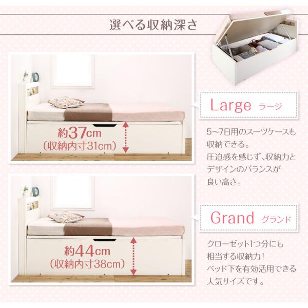 ショート丈収納ベッド【Odette】オデット:商品説明13