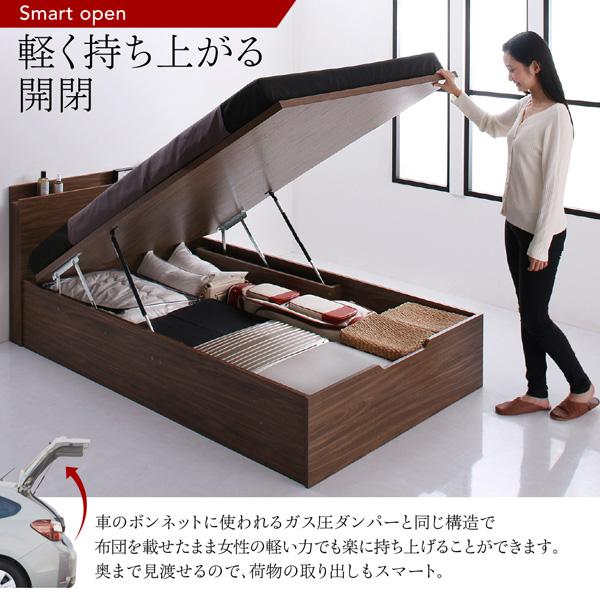 跳ね上げ式ベッド【Ostade】オスターデ:商品説明6