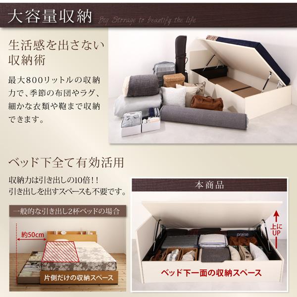 跳ね上げベッド【Salomon】サロモン:商品説明3