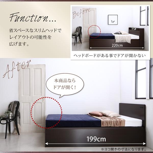 跳ね上げベッド【Salomon】サロモン:商品説明7