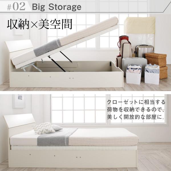 跳ね上げ式ベッド【WEISEL】ヴァイゼル:商品説明5