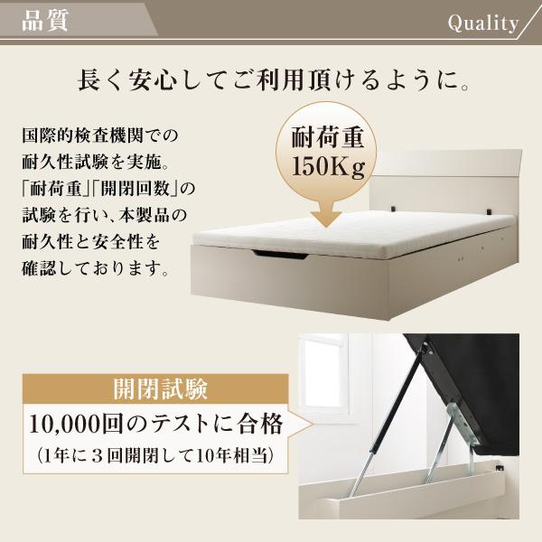 跳ね上げ式ベッド【WEISEL】ヴァイゼル:商品説明9