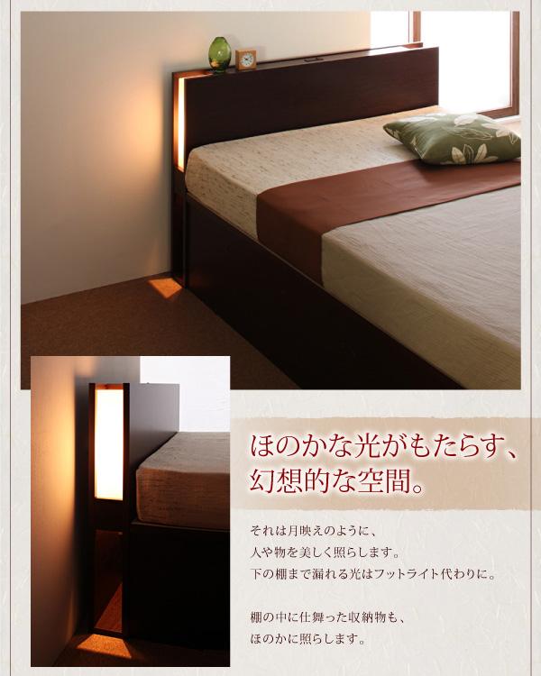 ガス圧式跳ね上げ収納ベッド【夕月】ユフヅキ:商品説明16